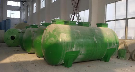 一体化玻璃钢化粪池