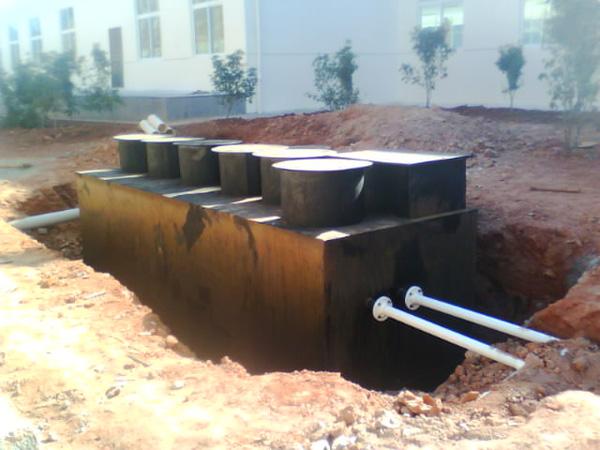理县上孟卫生院污水处理