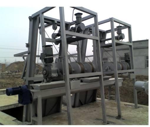 钢绳式格栅机
